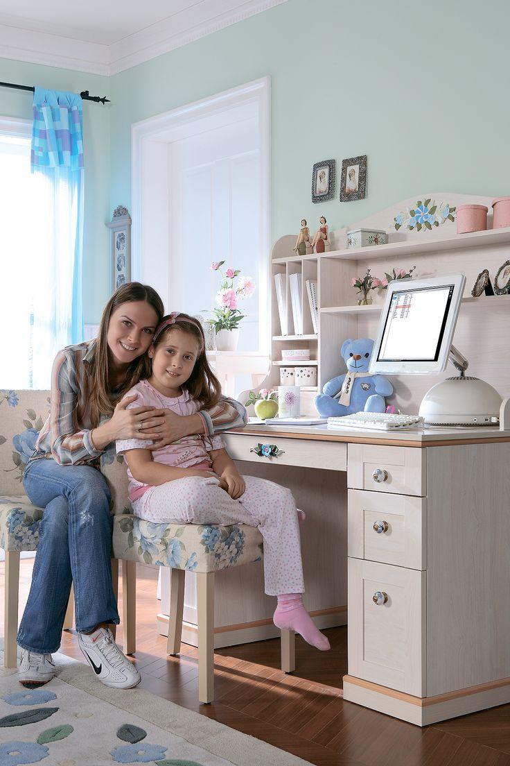 Детский письменный стол Cilek Flora