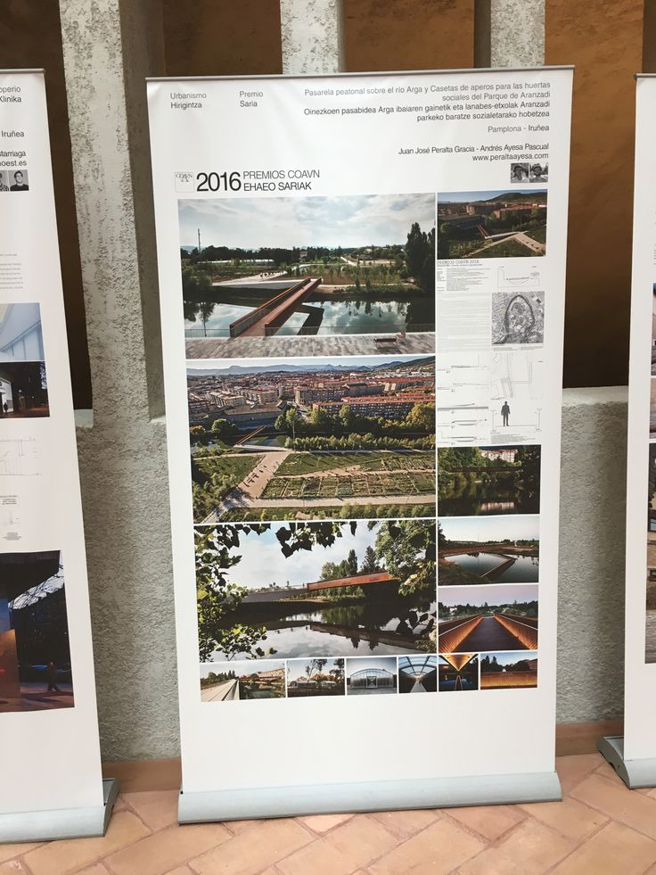 Every three years the Basque-Navarre architect registration board (COAVN) celebrates projects, from the 4 delegations belonging to the COAVN, from the fields of architecture, refurbishment urban and interior design, with the best design award.