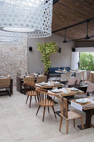 The Giri Café, strikingly designed Ibiza restaurant in San Juan