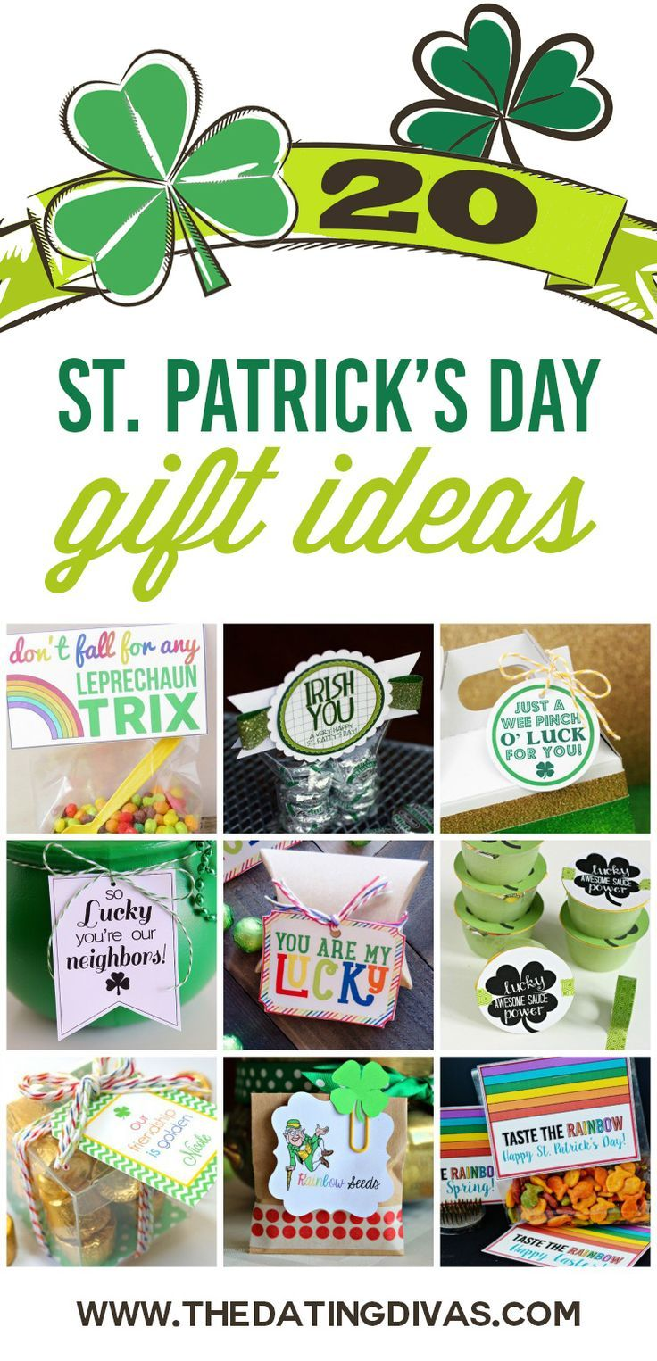 St. Patrick's Day gift ideas for everyone in your life! LOVE these!! www.TheDatingDivas.com
