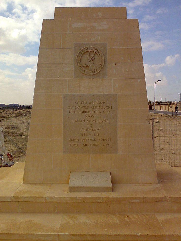 South African memorial at El Alamein