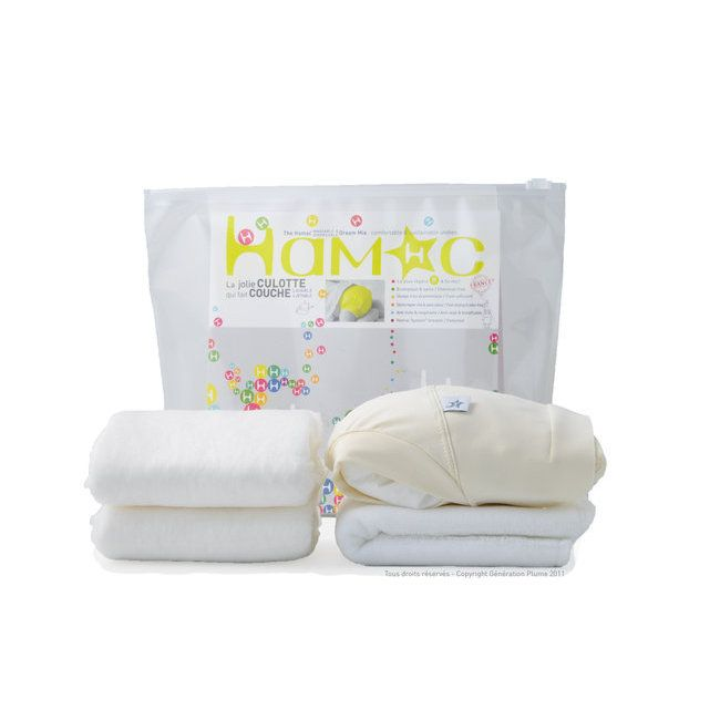:Eco Bébé:Natiloo:Conso Baby:GreenweezElue meilleure couche lavable par Consobaby !Le kit d'essai de la couche lavable et jetable Hamac permet de tester le système Hamac. Il est disponible en 4 tailles qui vont de la naissance à la propreté.Il contient:- 1 couche lavable HamacOrigine France Garantie, de couleur Chocolat Blanc (crème)- 1 absorbant lavableen microfibre ou en coton bio- 2 absorbants jetables- 1 voile de protection jetableVous hésitez entre l'absorbant en coton bio et…