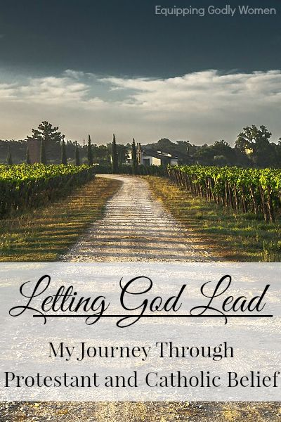 Letting God Lead: My Journey Through Protestant and Catholic Beliefs: Great Series! Must read for any Christian!
