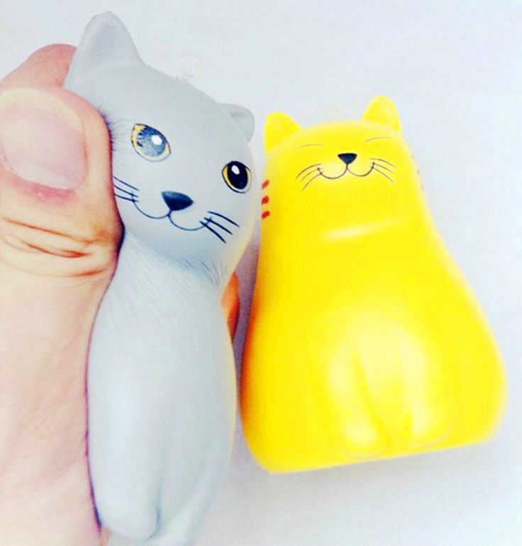 cat squishy 10cm squishy cell phone charm Pinterest