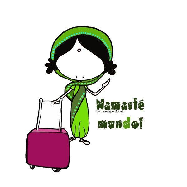 De nuevo en ruta. Un viaje cortito para cerrar un gran ciclo vital. Eeeegunon mundo! Namasté India!!