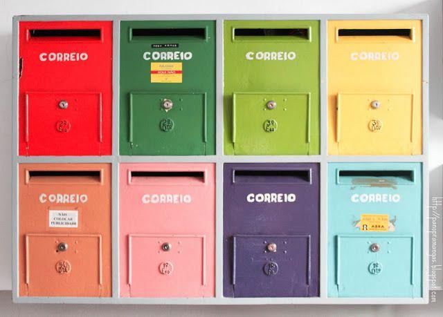 Pano pra Mangas: Caixas de correio * Mail boxes