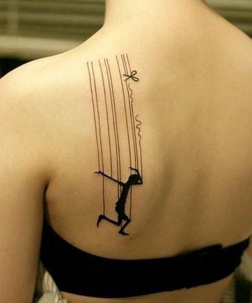 unique back shoulder tattoo for girls Shoulder Tattoo ...