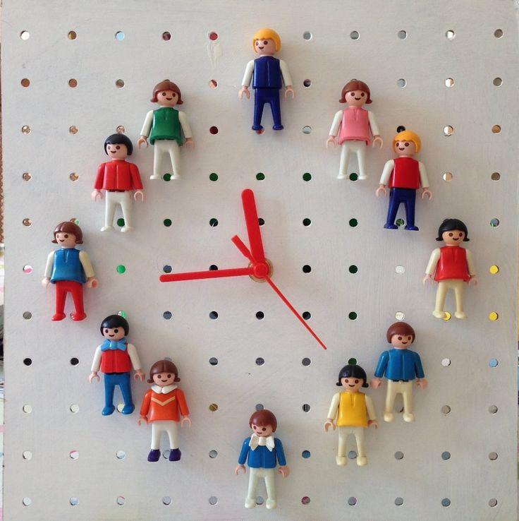 vintage Playmobil clock