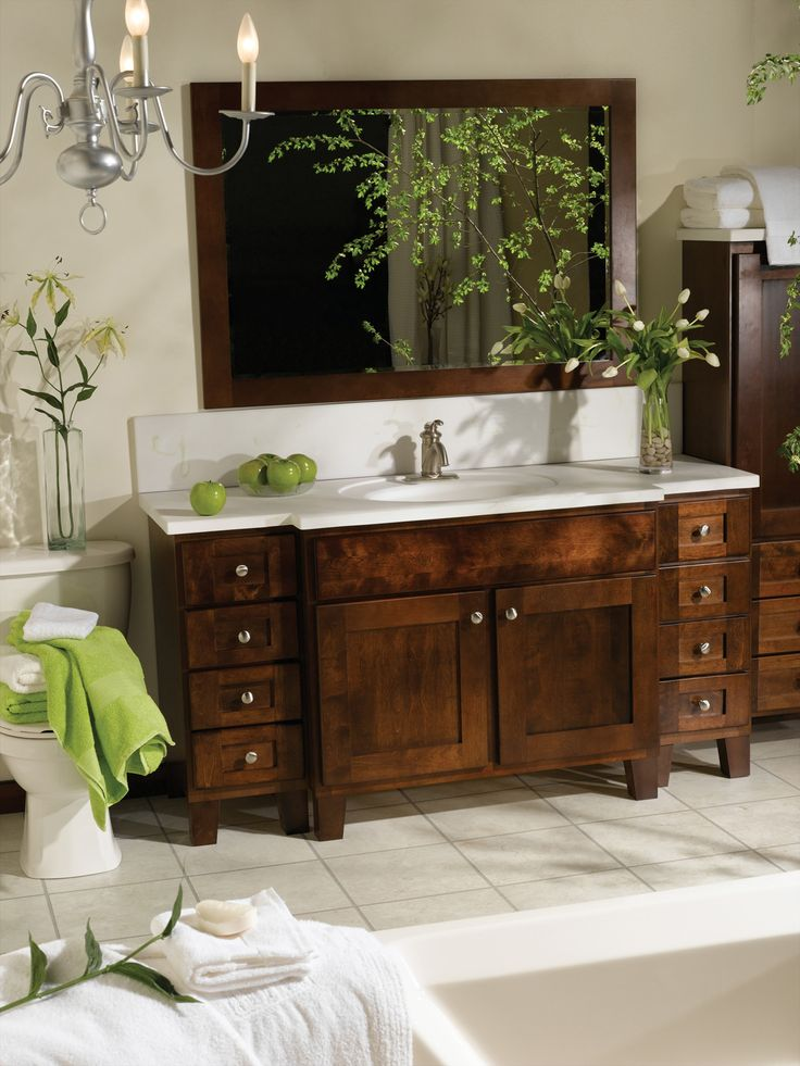 Awesome Birch Bathroom Vanity Cabinets