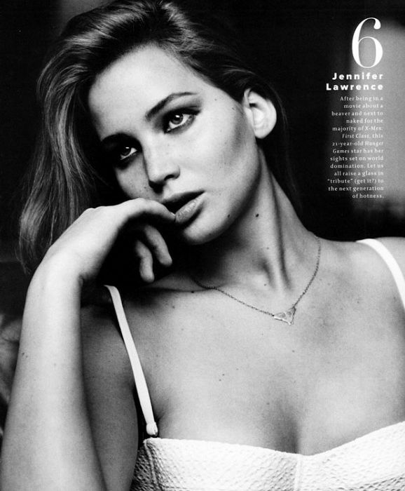 Jennifer Lawrence makes Maxims Hot 100 List for 2012