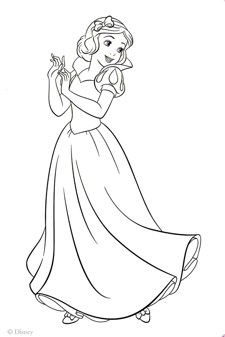 snow white coloring pages - Google-søgning