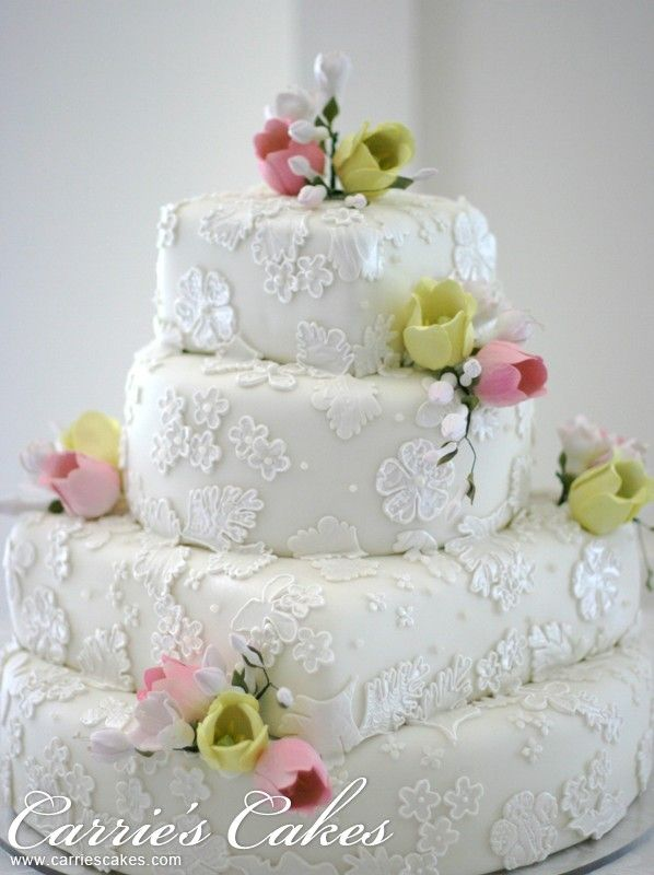 Carrie's Cakes...Carrie is a master and she created the masterpiece for my personal wedding.