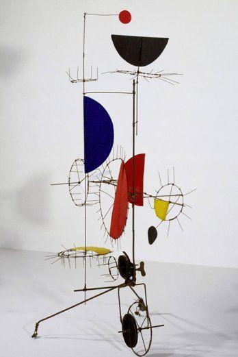 Jean Tinguely, Sculpture méta-mécanique automobile, Sculpture méta-mécanique, 1954_Collection Centre Pompidou