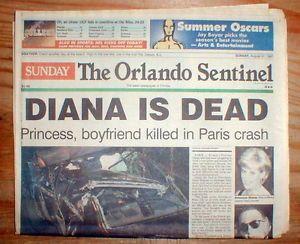 Princess Diana Car Crash | ... -display-newspaper-PRINCESS-DIANA-DEAD-in-car-crash-in-PARIS-France