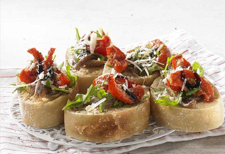 Bruschetta met ansjovis - Colruyt Culinair !