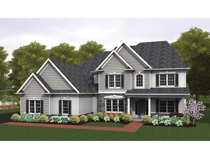 Eplans colonial house plan colonial with 2 story great for Eplan house plans