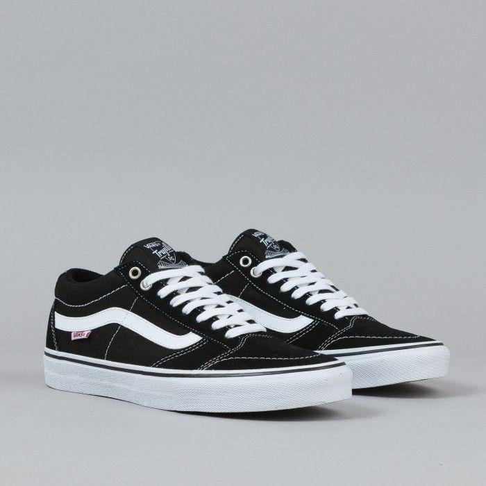 Vans TNT SG Shoes - Black / White   Flatspot