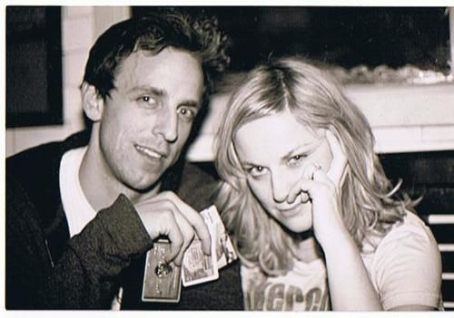 Seth Meyers and Amy Poehler.  (My favorite Weekend Update Team)