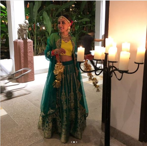 Amrita Puri had the dreamiest wedding ever and here is a glimpse at her outfits | PINKVILLA