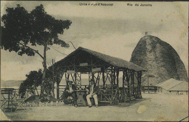A. Ribeiro. Urca e Pão d'Assucar. c. 1905. Rio de Janeiro. Brasiliana Fotográfica