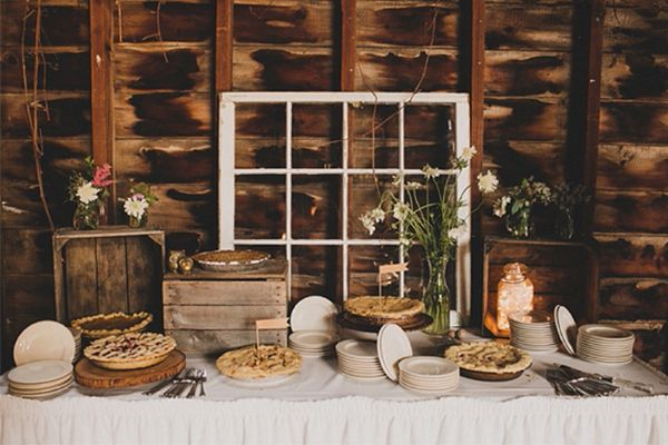 This Stunning, Rustic Wedding Serves Up Serious Inspo #refinery29  http://www.refinery29.com/100-layer-cake/9#slide22
