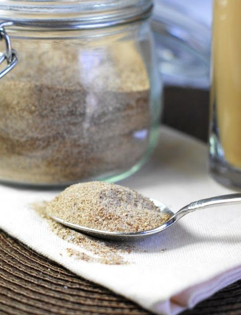 This Homemade Chai Tea Latte Mix sounds delicious!