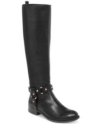 Jessica Simpson Reade 50/50 Tall Shaft Riding Boots | macys.com