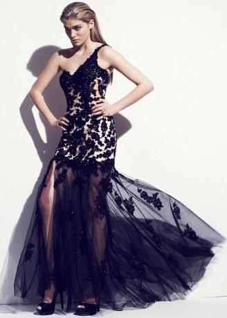 Felicity-black Dress