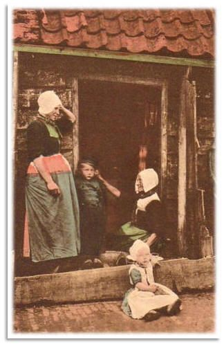 ♥Volendam uitg. Spaander 1910
