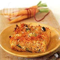 Courgette-worteltaart recept - Recepten van Allrecipes