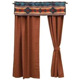 Southwestern Curtains, Southwestern Window Treatments, Drapery, Valances.