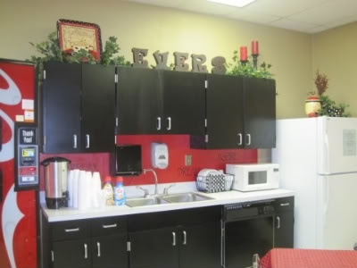 Teacher S Lounge Makeover School Organization