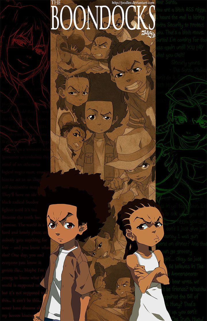 The Boondocks By Joodlez On DeviantArt