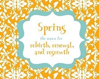 Spring Has Sprung Quotes - 7 on a Shoestring See more spring quotes at: <a href=