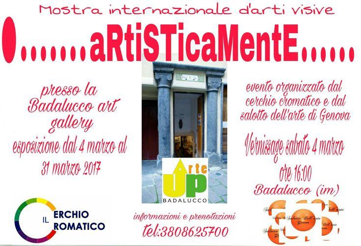 Mostra collettiva d'arti visive presso la Badalucco art gallery