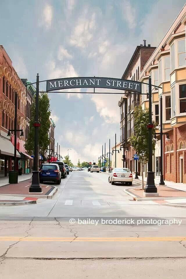 Merchant street. Decatur Illinois.