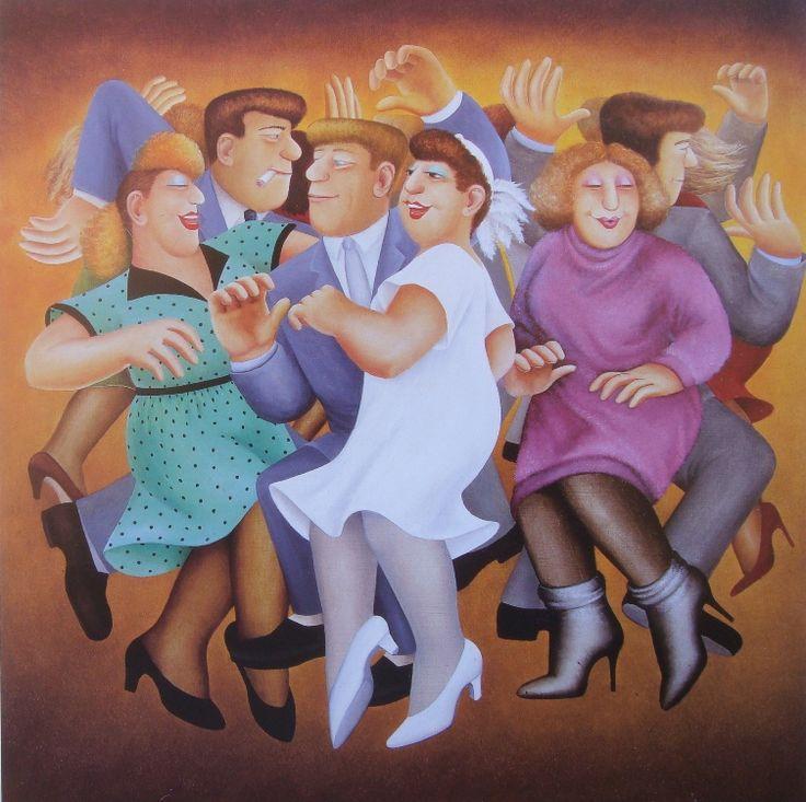 Beryl Cook ~ Wedding Dance