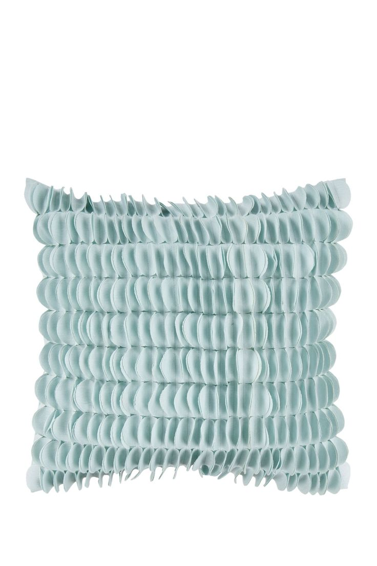 Textured Circle Pillow   Light Blue On @HauteLook · Decorative Throw  PillowsContemporary ...