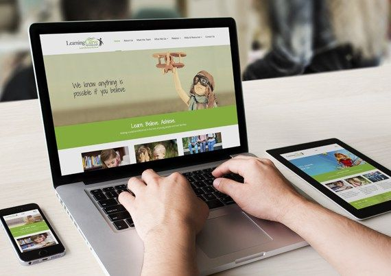 Learning Curve Psychology Website | Web Design | Oraco Marketing