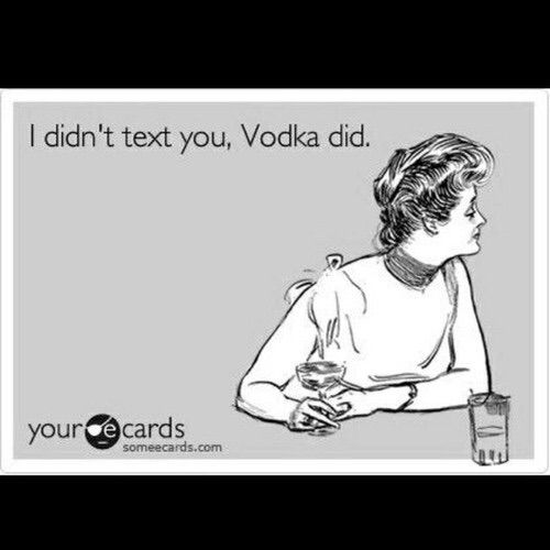 Image via We Heart It #text #vodka