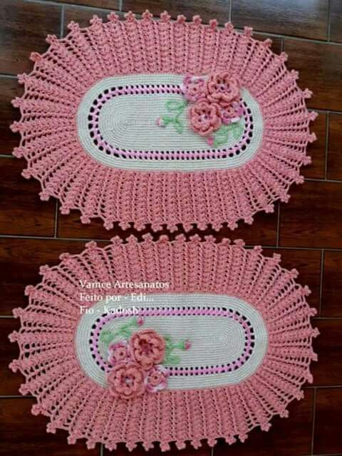 17 Best Images About Tapetes Crochet On Pinterest