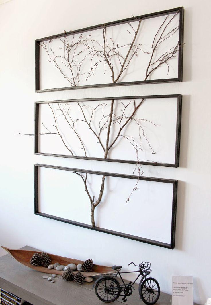 rustikale Holzzweige Wanddekor Kunsthandwerk