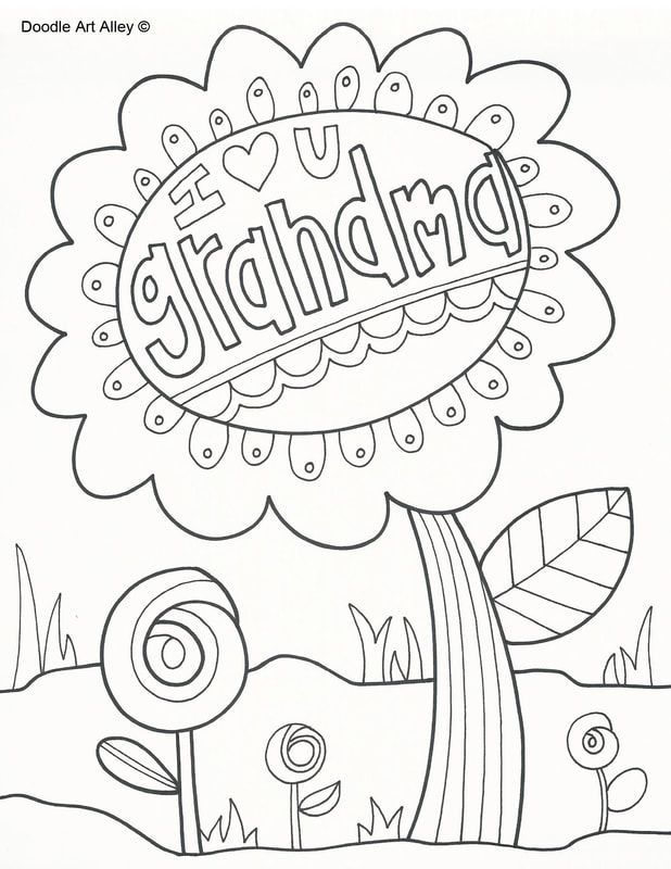 Picture With Images Heart Coloring Pages Mothers Day Coloring