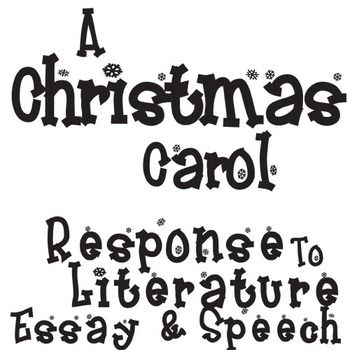 a christmas carol 18 essay Essays on charles dickens's a christmas carol 1 editor's note 3 charles dickens: his life and his work elizabeth nissly 9 great expectations:  (18) it is entertaining to imagine how.
