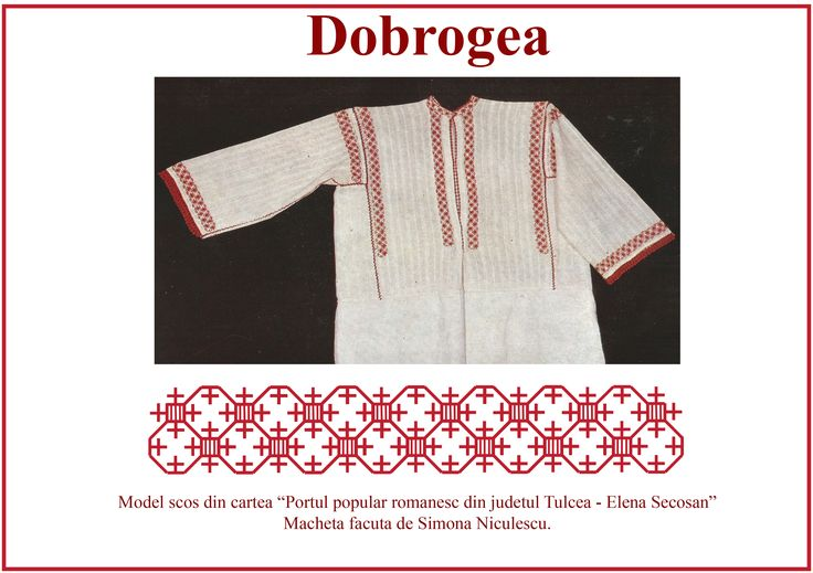 Camasa dobrogeana, Dobrogea