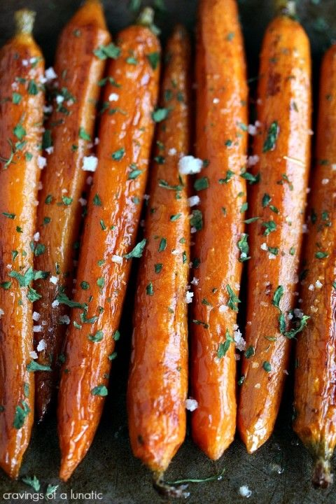 Balsamic Roasted Baby Carrots | So simple to make yet so complex in flavour. A family favourite!