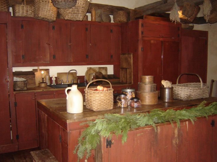 kitchen designs images with island 1000 images about primitive home on 8018