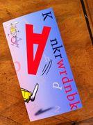 Het Knkrwrdnbk staat vol informatie en tips. Het is bedoeld voor kinderen van 6 tot 12 jaar. www.kankerspoken.nl