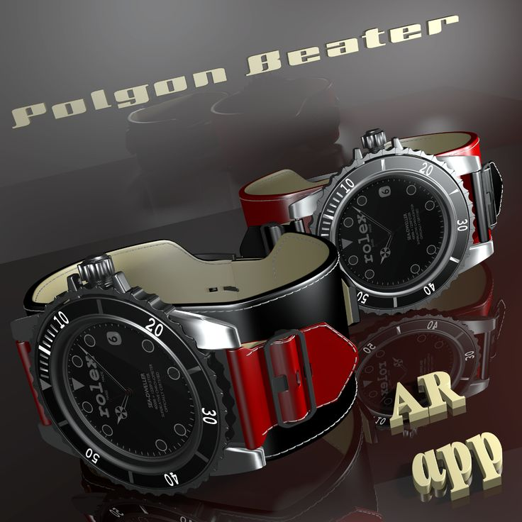 Watchmakers, Yours product range with support AR app. Feel free to contact us: http://polygonbeater.eu/contact/