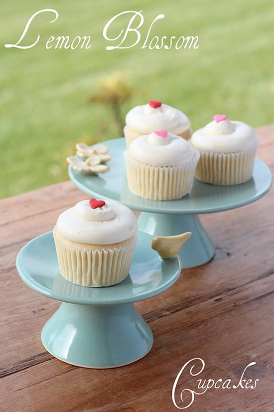 Lemon Blossom Cupcakes Recipe - Cupcake Daily Blog - Best Cupcake Recipes .. one happy bite at a time!
